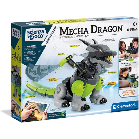Mecha Dragon Robot...