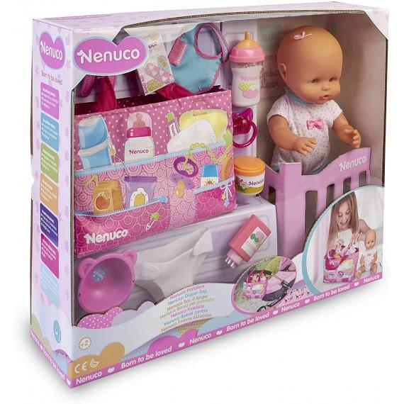 Bambola Nenuco Borsa Bebè...