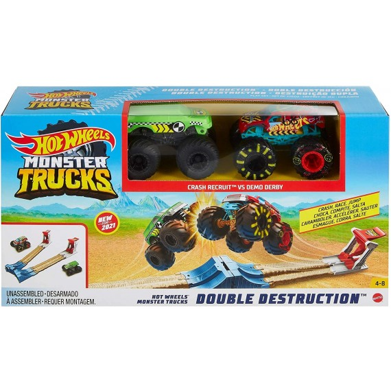 Mattel Hot Wheels MT Doppia...