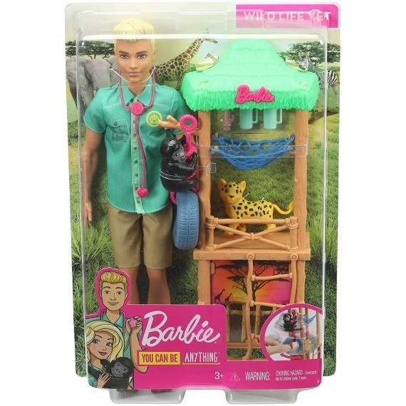 Ken Veterinario con Bambola...