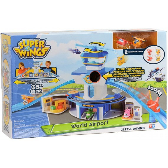 Super Wings Jett & Donnie...