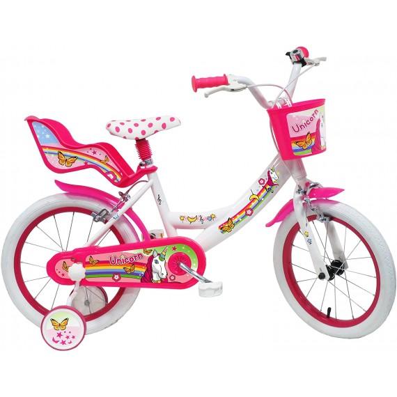 Bicicletta Unicorno 16...