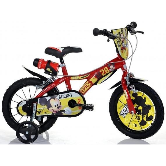 Bici Misura 16 Mickey Mouse...
