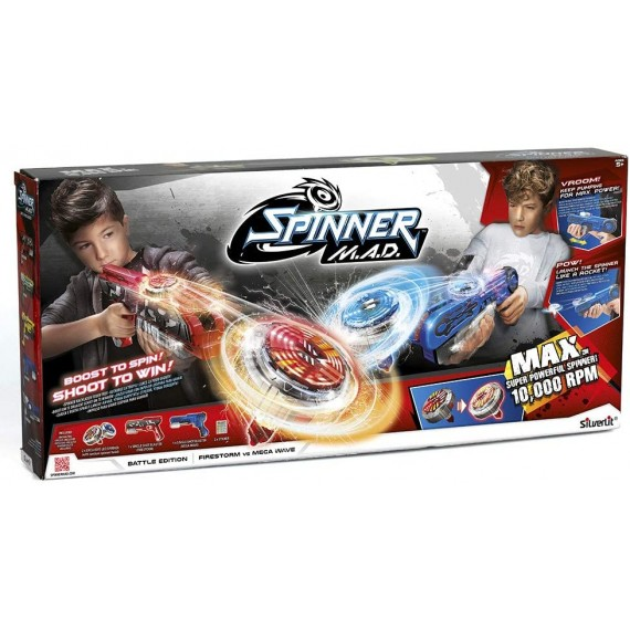 Spinner Mad Battle Gioco...