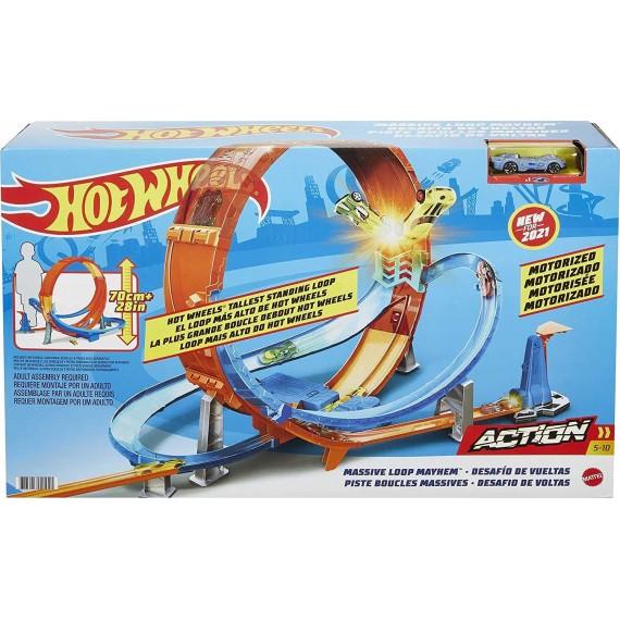 Pista Hot Wheels Action...