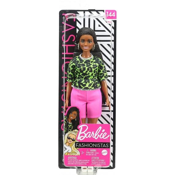 Bambola Barbiecon Trecce...