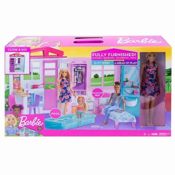 Barbie Casa Portatile...