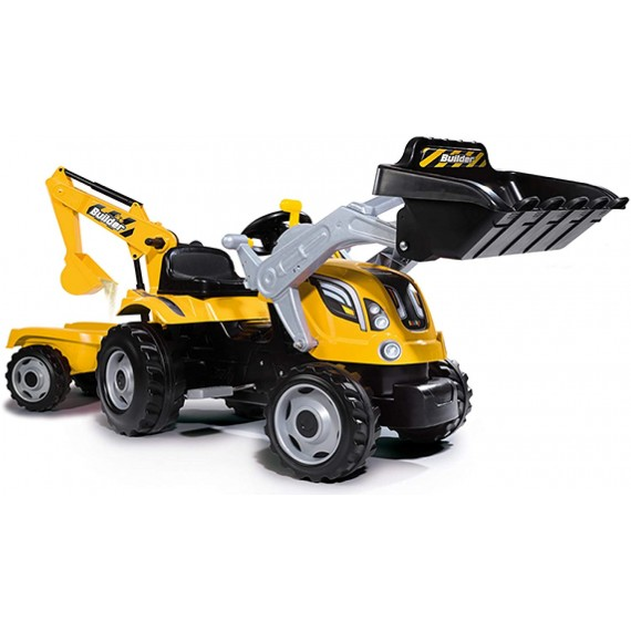 Smoby  Trattore Builder Max...