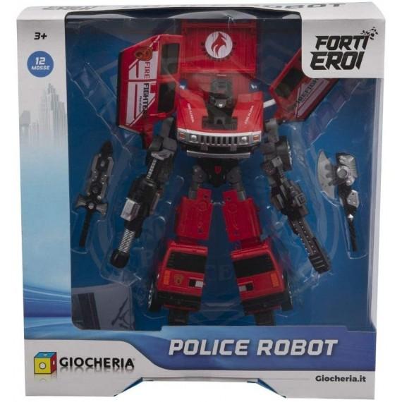 ROBOT POLICE ASSORTITO 4...