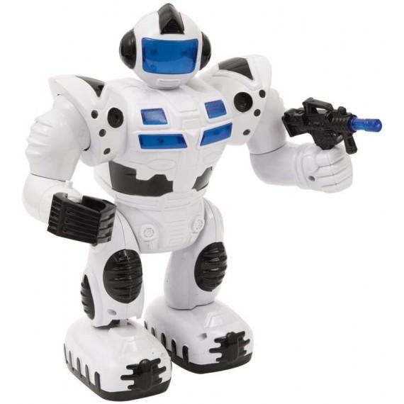 Robot Bianco Cammina con...