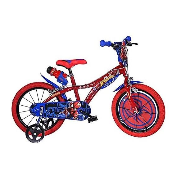 dino Bicicletta 14'' Spiderman