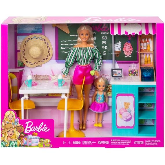 Barbie Cafe Set Bambole e...