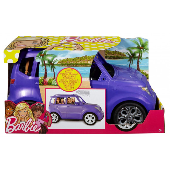 MACCHINA SUV BARBIE MATTEL...