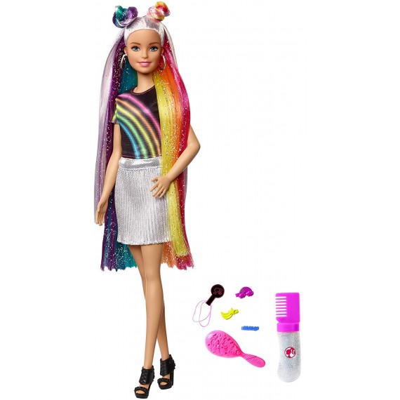 Barbie Bambola con Capelli...