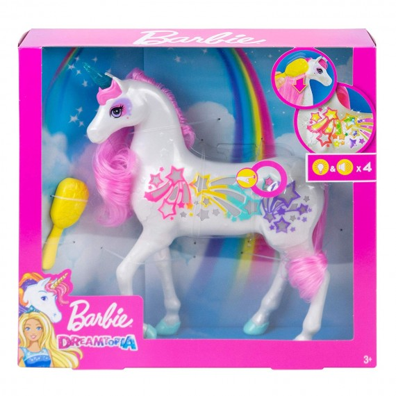 Barbie Unicorno Pettina e...