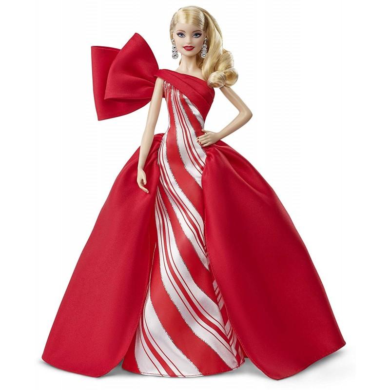 Barbie Natale.Barbie Magia Delle Feste 2019 Bambola Bionda Da Collezione Fxf01
