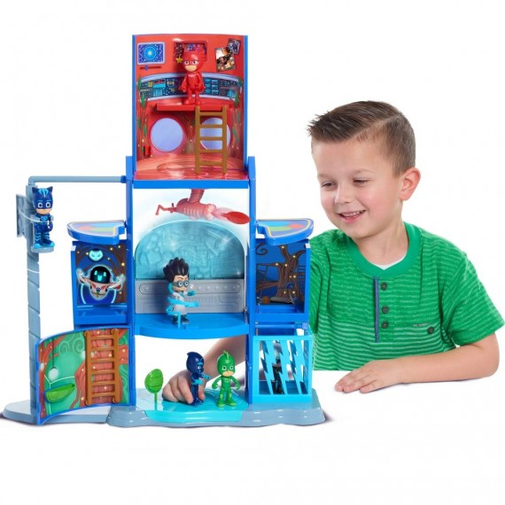 Pj Masks Playset Quartier...