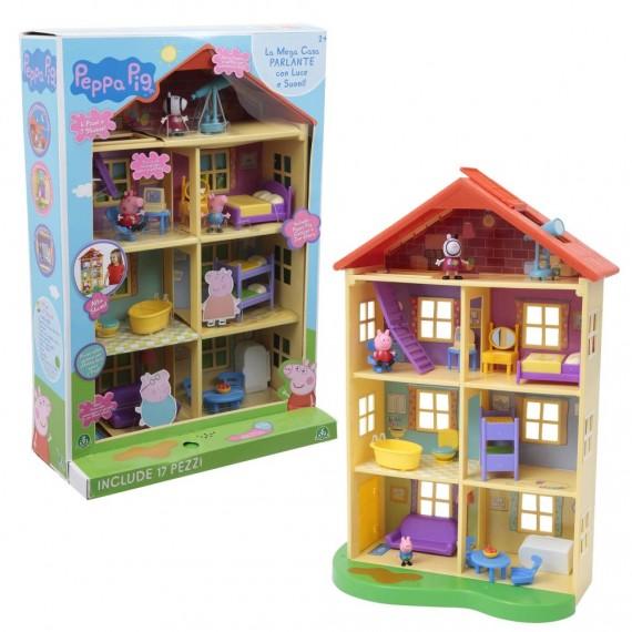 Peppa Pig Mega Casa con 3...