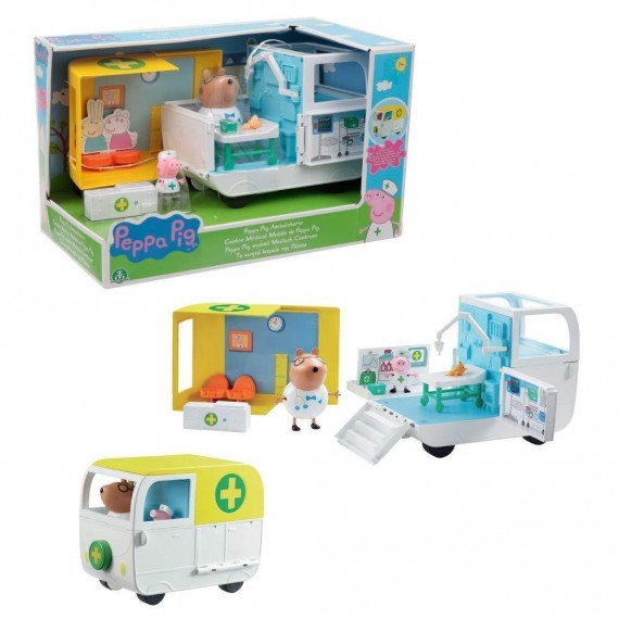 PEPPA PIG PLAYSET AMBULANZA...