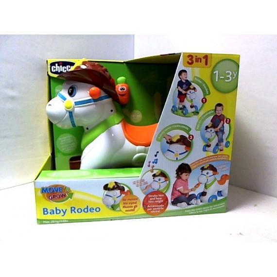 Chicco Rodeo Con Dondolo.Baby Rodeo Cavallo A Dondolo Cavalcabile Chicco 079070