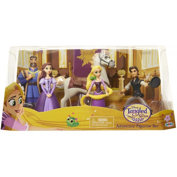 Disney-Rapunzel Figure Set...