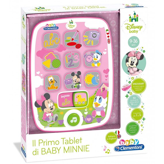 TABLET DI MINNIE CLEMENTONI...
