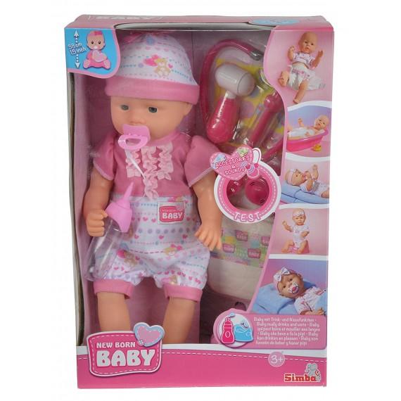 Bambola New Born Baby Bebè...