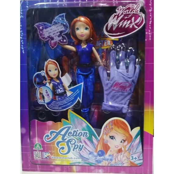 BAMBOLA WINX   BLOOM ACTION...