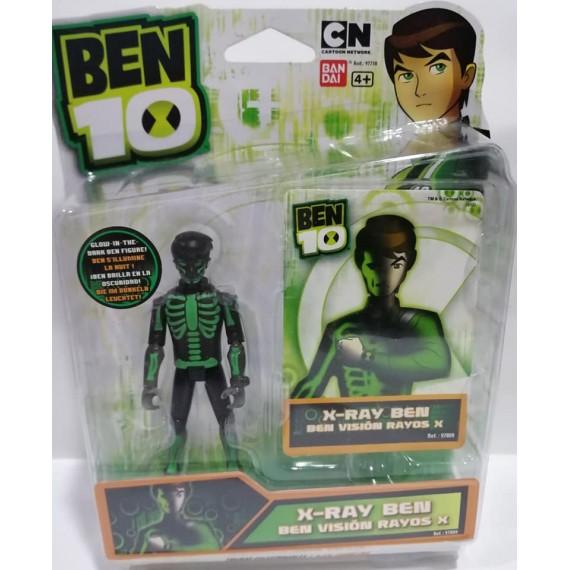 PERSONAGGIO BEN TEN  X RAY...