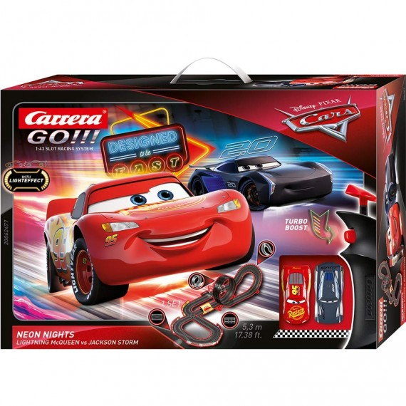 PISTA CARS NEON NIGHT 62477