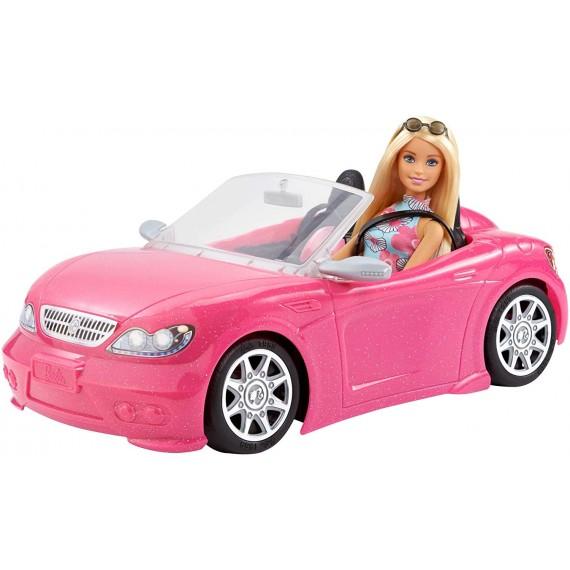 Barbie-con Auto Cabrio,...