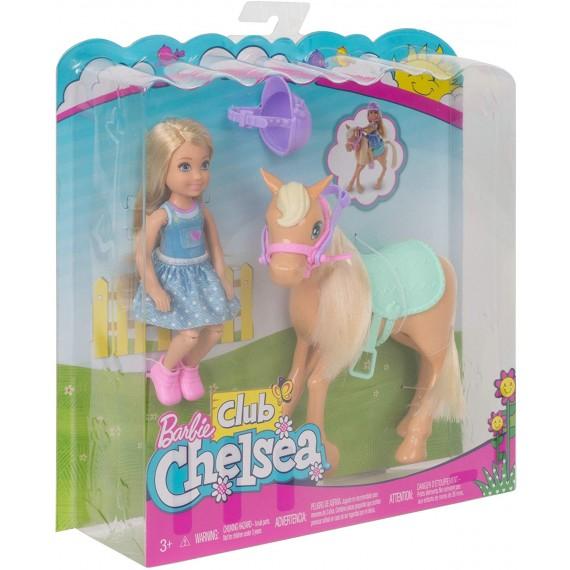 Barbie Chelsea e Pony DYL42...