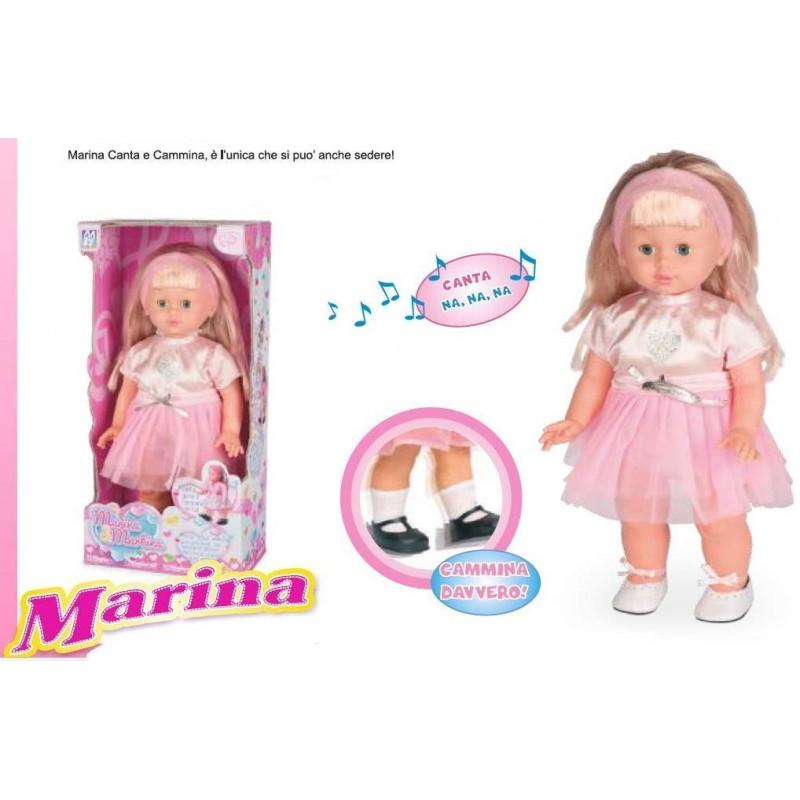Bambola Marina Canta e Cammina 48cm Migliorati