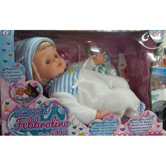 Bambola Febbrolino Cm.42...