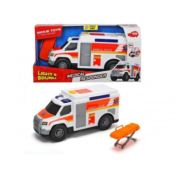 Ambulanza 30 cm con luci e...