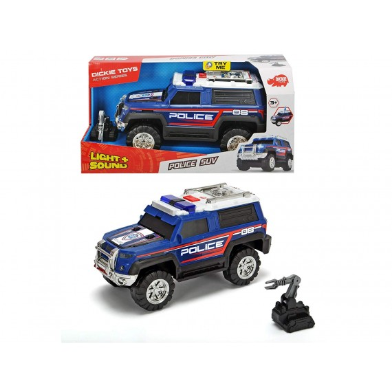 MACCHINA SUV DELLA POLIZIA...