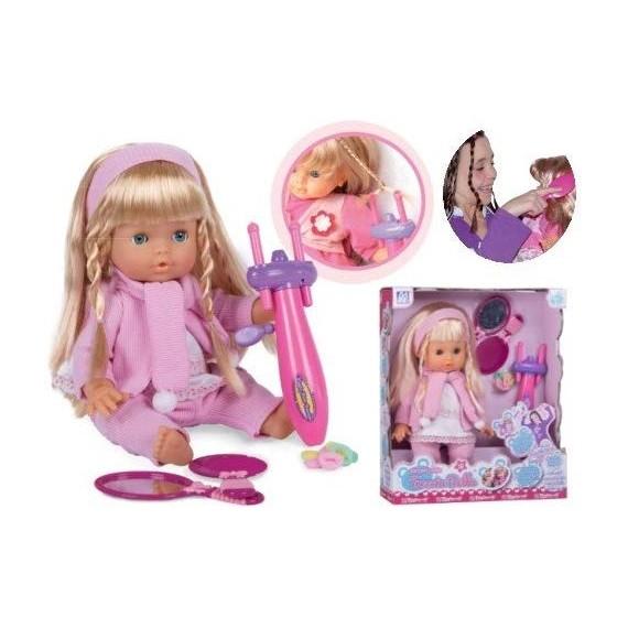 Bambola Treccia Bella Cm.40...