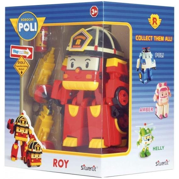 ROBOCAR POLI ROBOTS ROY...