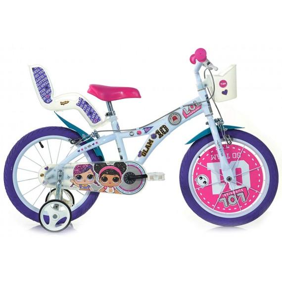 """Bicicletta per Bambina 16""""..."""