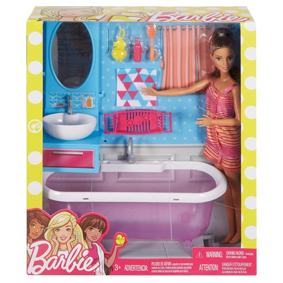 Barbie  Il Bagno DVX53