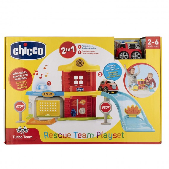 Chicco Police-Fire Station...