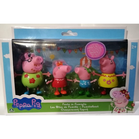 PLAYSET FAMIGLIA PEPPA PIG...