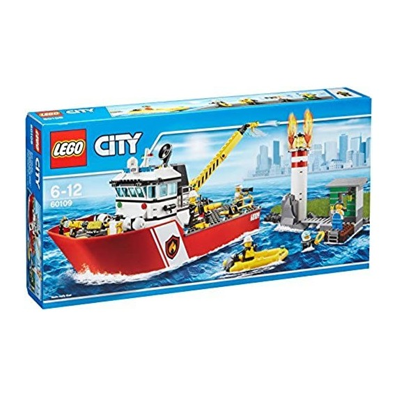 LEGO City Pompieri...