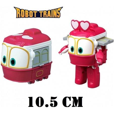Robot Trains 80167 Personaggio Selly Trasformabile da 10,5 cm
