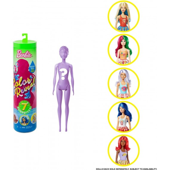 Barbie- Color Reveal...